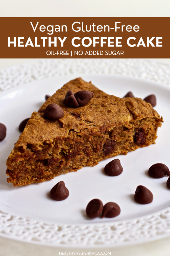 Vegan Gluten-Free Coffee Cake