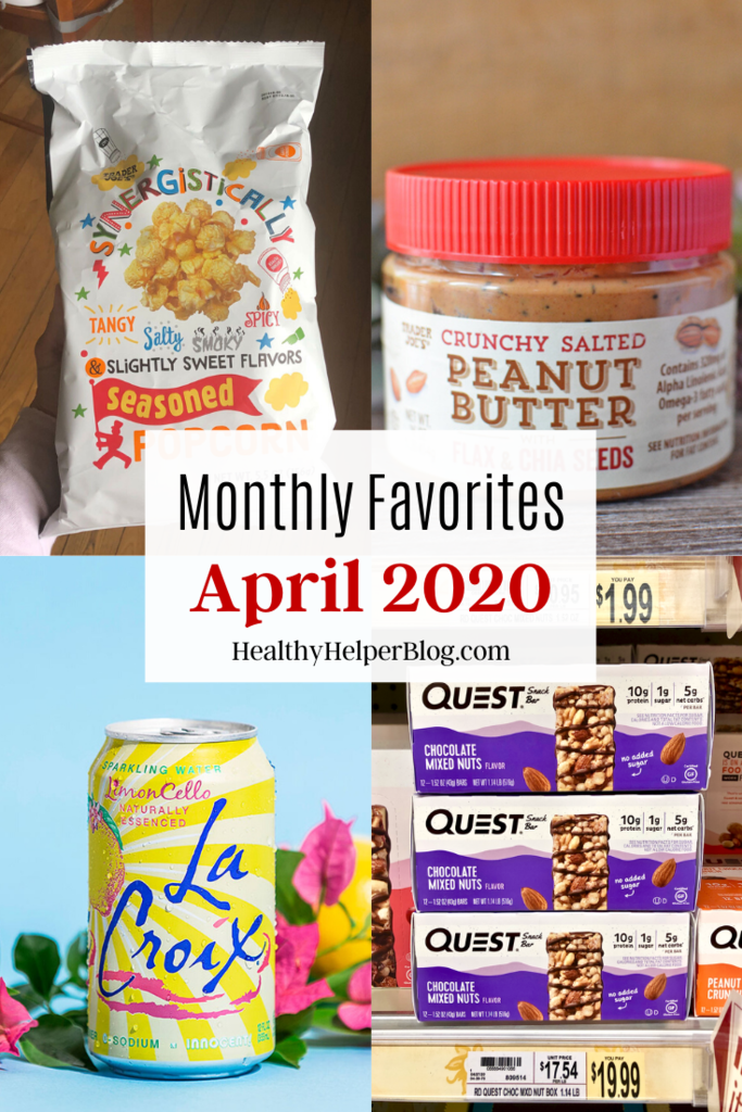 Monthly Favorites: April 2020   A roundup of my current favorite products, links, and things from around the web! Check out the list and find some new things to try for yourself.