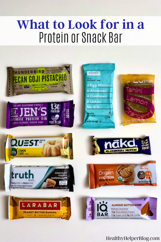 What to Look for in a Protein (or Snack!) Bar | Looking to boost your protein intake or stay on track with your nutrition goals by choosing a healthy snack? Protein and snack bars can be a great option, but only if they meet certain criteria. Here's what to look for in your bars.