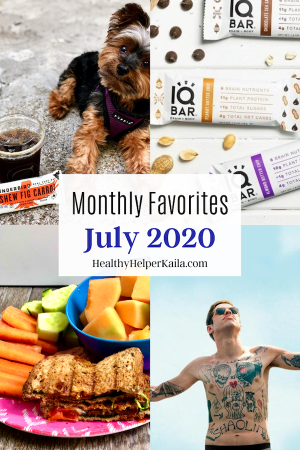 Monthly Favorites: July 2020 | A roundup of my current favorite products, links, and things from around the web! Check out the list and find some new things to try for yourself.