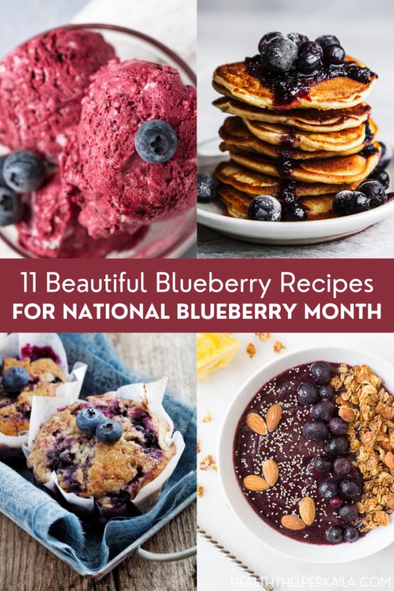 11 Beautiful Blueberry Recipes