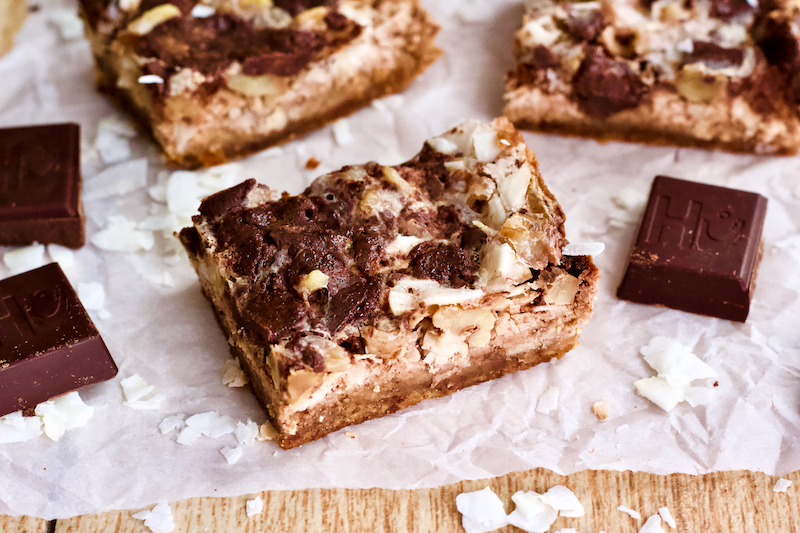 Dairy-Free Grain-Free Magic Cookie Bars