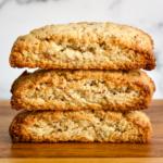 Vegan Gluten-Free Lemon Almond Biscotti