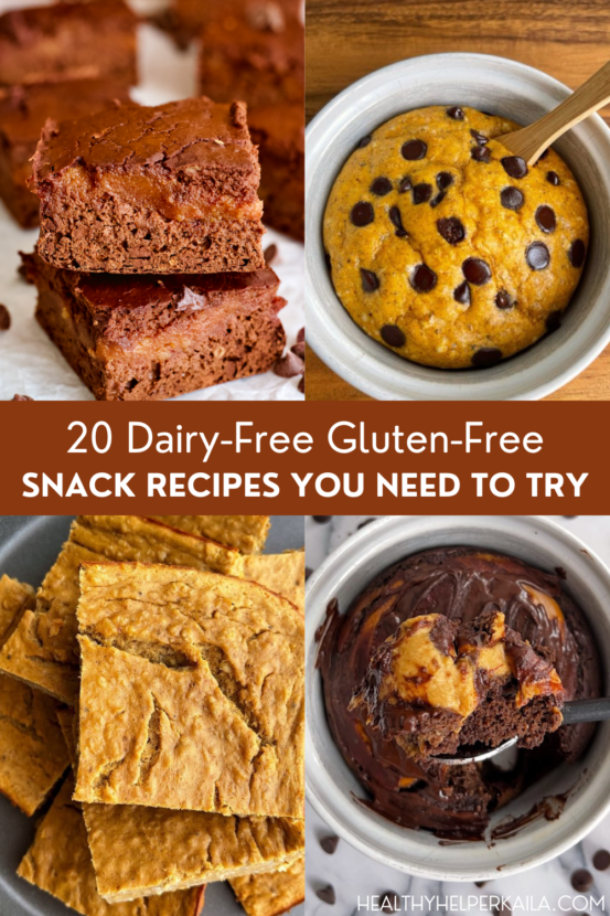 20 Dairy-Free Gluten-Free Snack Recipes You Need to Try